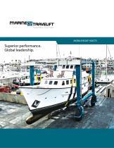 Marine Travelift Mobile Boat Hoist Brochure