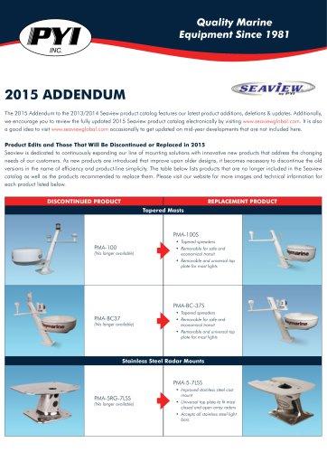Seaview 2015 Addendum