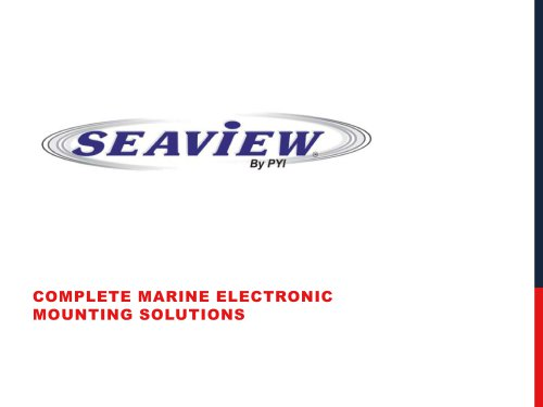 Seaview Products Presentation