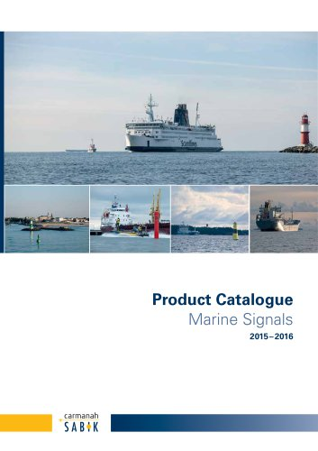 2015-2016 Product Catalogue