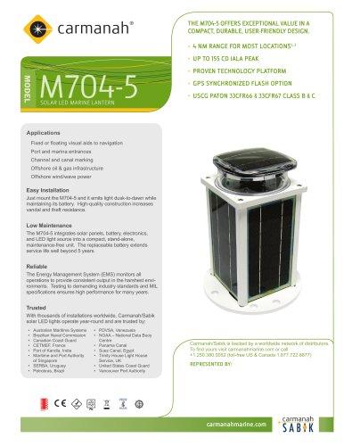 Carmanah M704-5