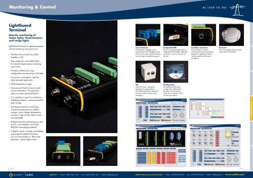 LightGuard Terminal Catalogue Sheet