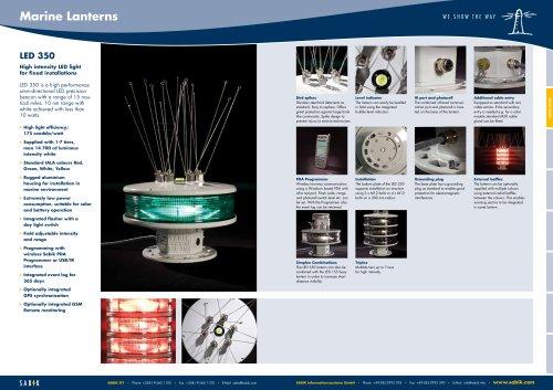 Sabik LED 350 High Intensity Lantern