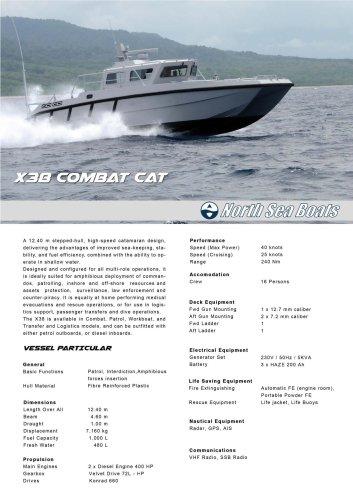 X38 Combat Catamaran