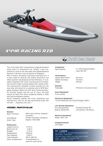 X44 Racing RIB