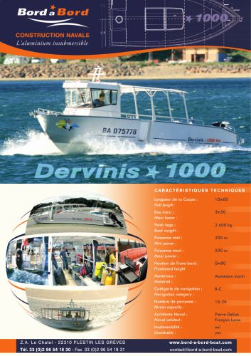 Dervinis 1000 UNSINKABLE