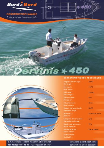 DERVINIS 450 UNSINKABLE