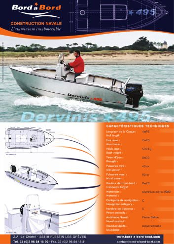 Dervinis 495 UNSINKABLE