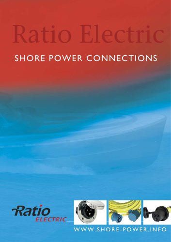 Ratio Electric SHORE POWER CONNECTIONS