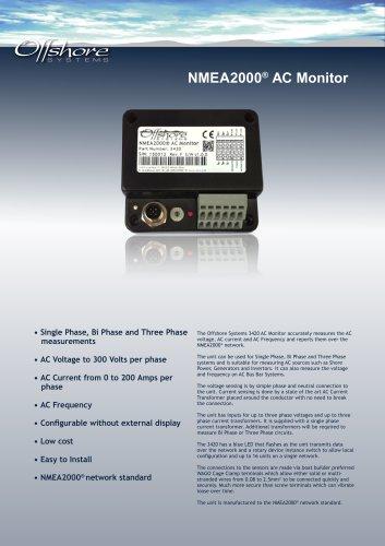 NMEA2000® AC Monitor