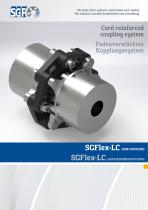 Cord reinforced coupling system