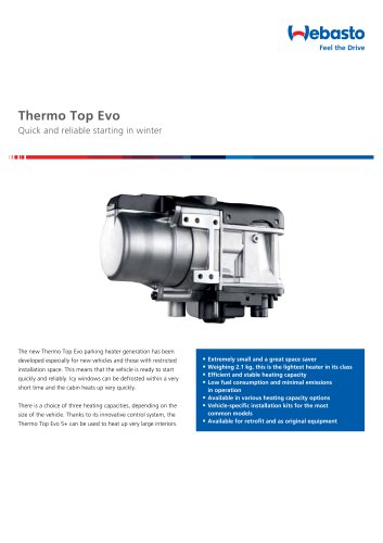 Thermo Top Evo