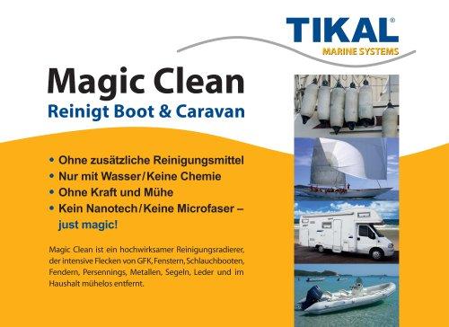 Magic Clean Reinigt Boot & Caravan