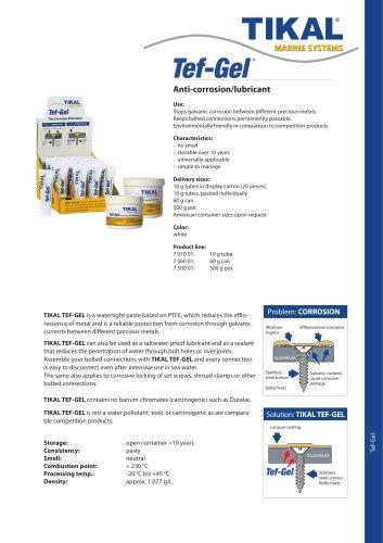 Tef Gel - Anti-Corrosion
