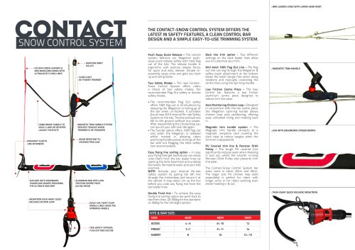 CONTACT SNOW CONTROL SYSTEM