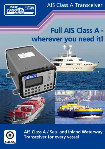 A179 easyTRX – SOLAS AIS Class A
