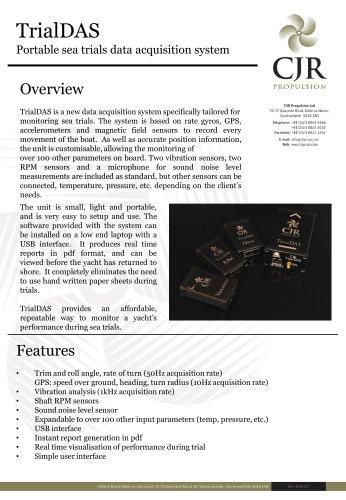 trialDAS-specifications
