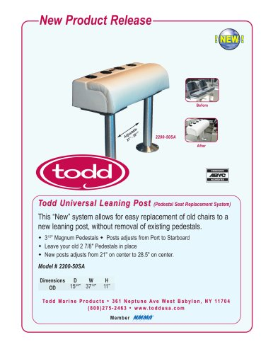 Todd Universal Leaning Post