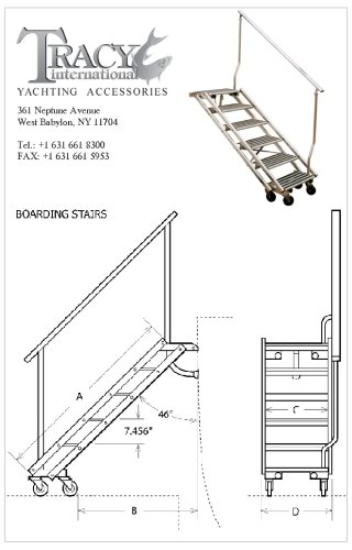 boarding stairs