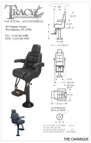 Camargue Flip-Up Helm Seat