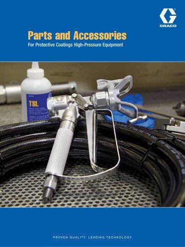 349329EN-A Parts Accessories for Protective Coatings Equipment brochure