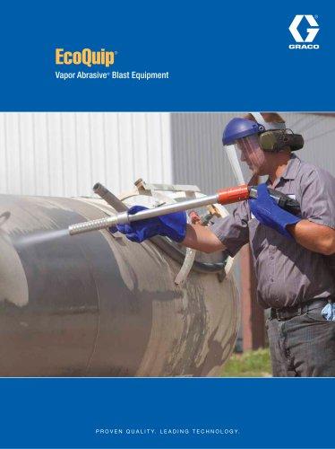EcoQuip Vapor Abrasive Blast Equipment