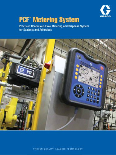 PCF Metering System brochure