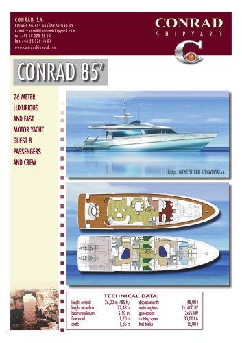 CONRAD 85 brochure