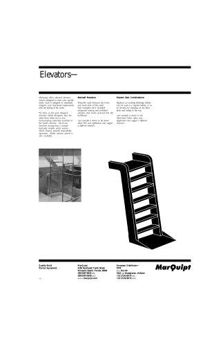 Specification Elevator