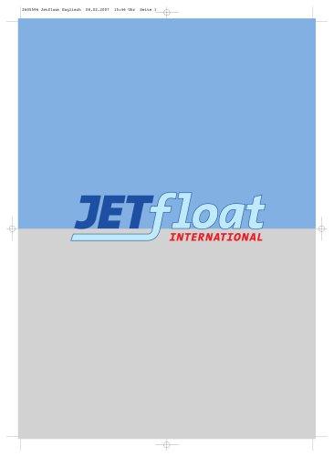 JETFLOAT INTERNATIONAL BROCHURE
