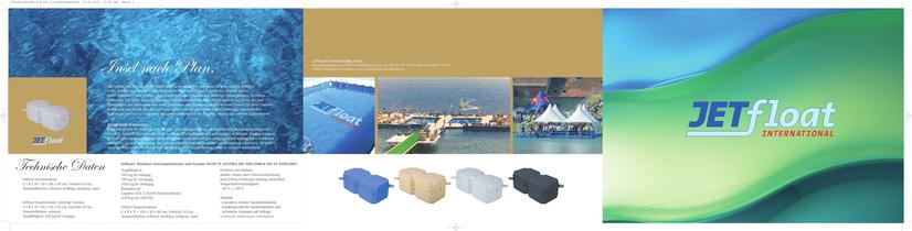 Jetfloat modular floating elements & systems Made in Austria