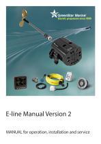 Greenstar E-line manual - 1