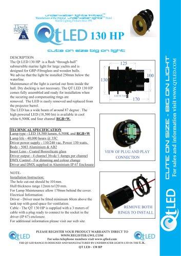 QTLED 130 HP & RGBW