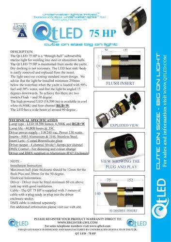 QTLED 75 HP & RGBW