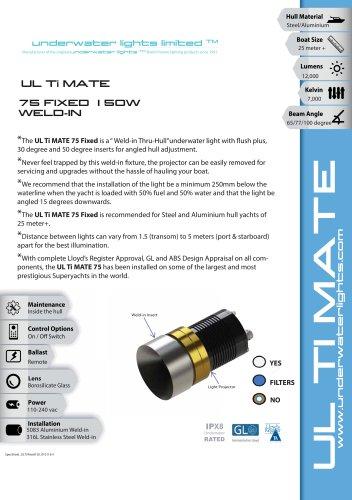 UL Ti MATE 75 - Fixed