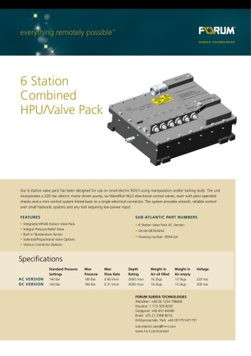 FOR222_6_Station_Combined_Valve_Pack_AC_Data_Sheet_100312