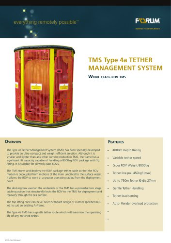 Type 4 Tether Management System