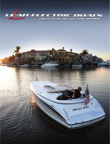 The LEAR 204 The Future of Electric Marine