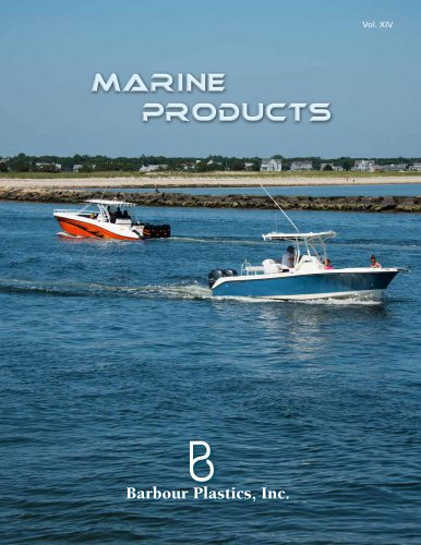 Barbour Catalog Marine Products