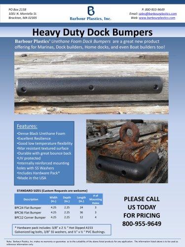 Heavy Duty Dock Bumpers