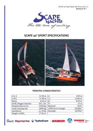 Scape 40 Sport