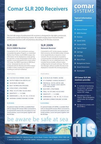 Comar SLR 200 AIS Receiver