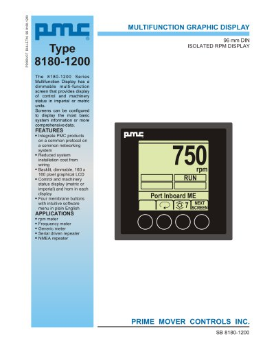 MULTIFUNCTION GRAPHIC DISPLAY