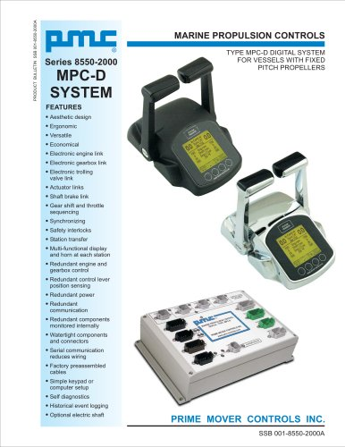 Series 8550-2000 MPC-D SYSTEM