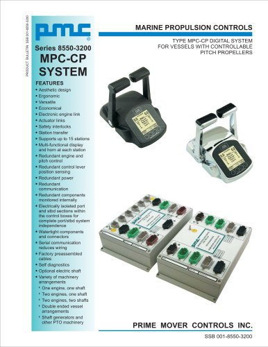 Series 8550-3200 MPC-CP SYSTEM