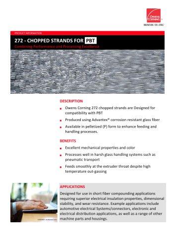 272 chopped strand 256