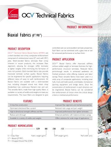 Biaxial Fabrics