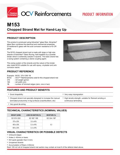 ChoppedStrandMats_M153