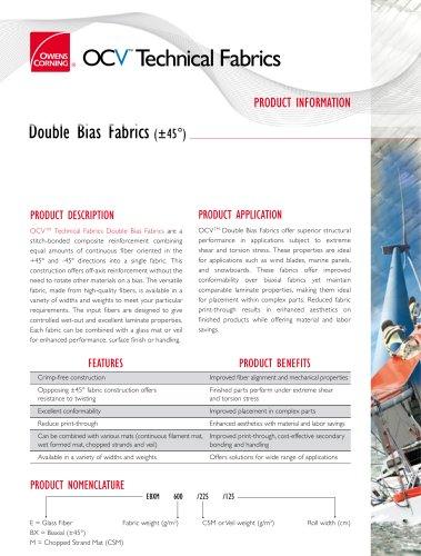 Double Bias fabrics