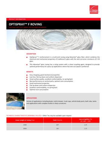 OptiSpray™ F Roving